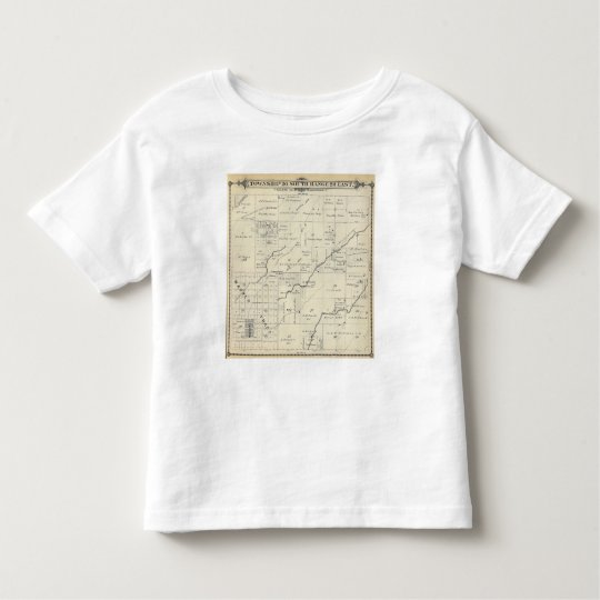 T20S R23E Tulare County Section Map Toddler T-shirt
