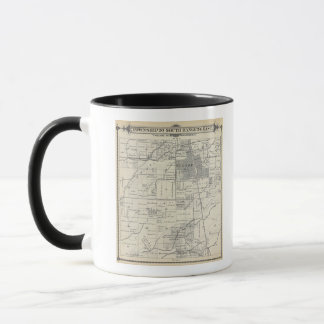 T20S R24E Tulare County Section Map Mug