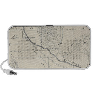 T20S R27E Tulare County Section Map iPhone Speaker
