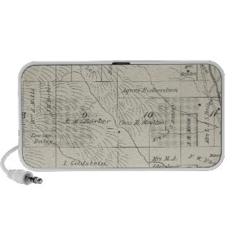 T20S R29E Tulare County Section Map Laptop Speakers