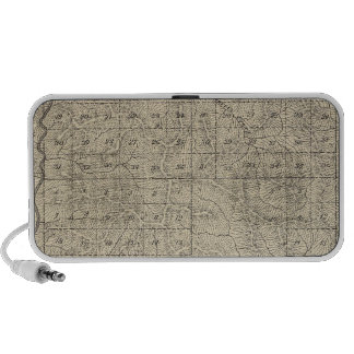 T2124S R3235E Tulare County Section Map Travel Speaker