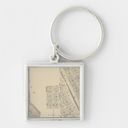 T2124S R3637E Tulare County Section Map Key Chain