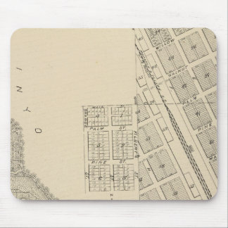 T2124S R3637E Tulare County Section Map Mouse Pad