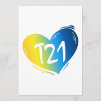 T21 Down Syndrome Awareness