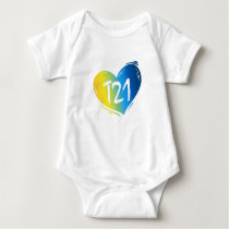 T21 Down Syndrome Awareness Baby Bodysuit