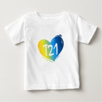T21 Down Syndrome Awareness Baby T-Shirt