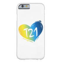 T21 Down Syndrome Awareness Barely There iPhone 6 Case