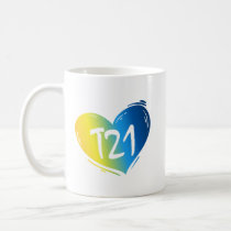 T21 Down Syndrome Awareness Coffee Mug