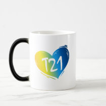 T21 Down Syndrome Awareness Magic Mug
