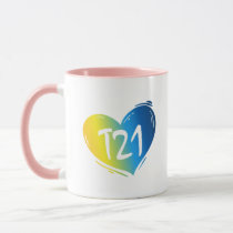 T21 Down Syndrome Awareness Mug