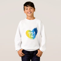 T21 Down Syndrome Awareness Sweatshirt