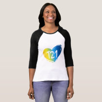 T21 Down Syndrome Awareness T-Shirt
