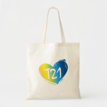 T21 Down Syndrome Awareness Tote Bag