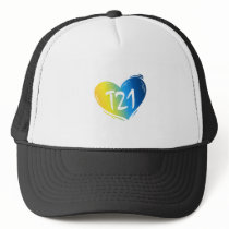 T21 Down Syndrome Awareness Trucker Hat