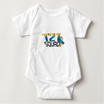 T21 Squad Down Syndrome Awareness Baby Bodysuit