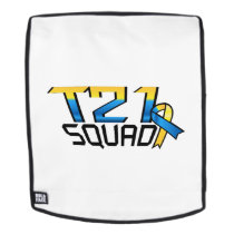 T21 Squad Down Syndrome Awareness Backpack