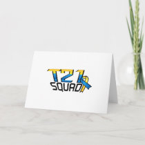 T21 Squad Down Syndrome Awareness Card