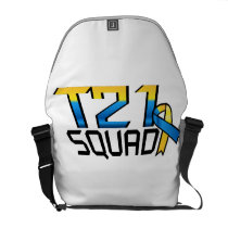 T21 Squad Down Syndrome Awareness Courier Bag