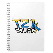T21 Squad Down Syndrome Awareness Notebook
