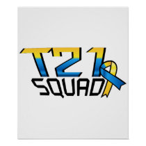 T21 Squad Down Syndrome Awareness Poster