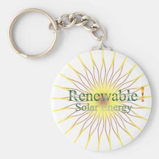 T21a Renewable  Solar Energy Keychain