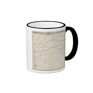 T21S R25E Tulare County Section Map Coffee Mug