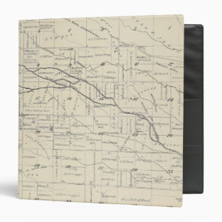 T21S R26E Tulare County Section Map Binder