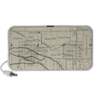 T21S R26E Tulare County Section Map Travelling Speakers