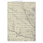 T21S R27E Tulare County Section Map Card