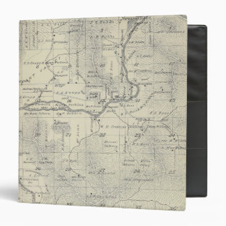 T21S R29E Tulare County Section Map 3 Ring Binders