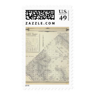 T2223S R1617E Tulare County Section Map Stamp