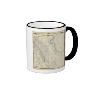 T2223S R1819E Tulare County Section Map Ringer Coffee Mug