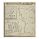 T22S R22E Tulare County Section Map Print