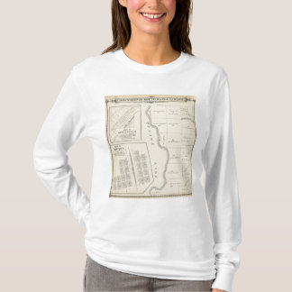 T22S R22E Tulare County Section Map T-Shirt