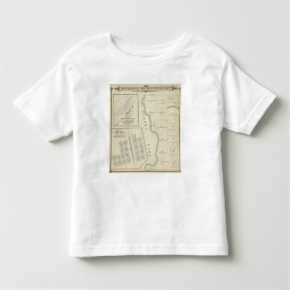 T22S R22E Tulare County Section Map Toddler T-shirt