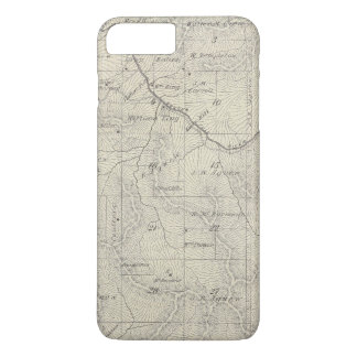 T22S R29E Tulare County Section Map iPhone 7 Plus Case