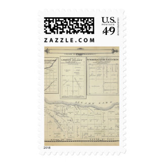 T23S R2021E Tulare County Section Map Postage Stamp