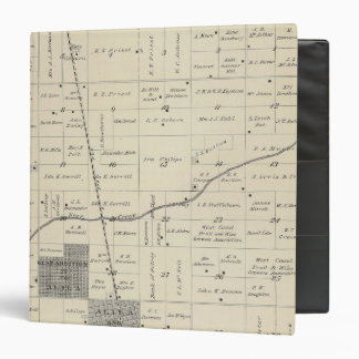 T23S R25E Tulare County Section Map 3 Ring Binder