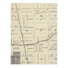 T23S R25E Tulare County Section Map Postcard