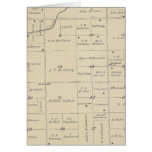 T23S R26E Tulare County Section Map Greeting Card