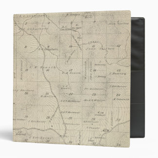 T23S R29E Tulare County Section Map 3 Ring Binders