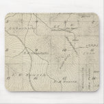 T23S R29E Tulare County Section Map Mouse Pad