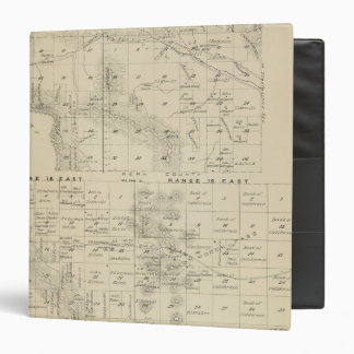 T24S R1619E Tulare County Section Map 3 Ring Binder