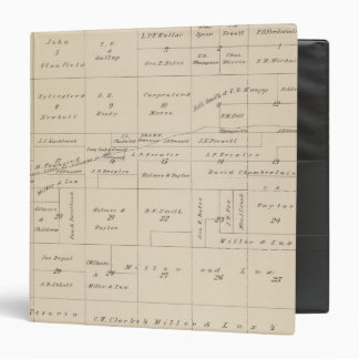 T24S R21E Tulare County Section Map Binder