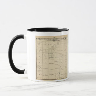 T24S R23E Tulare County Section Map Mug