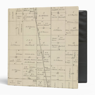 T24S R25E Tulare County Section Map Binder