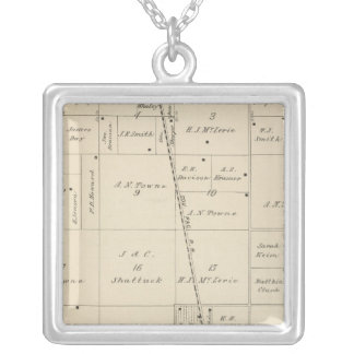T24S R25E Tulare County Section Map Pendants