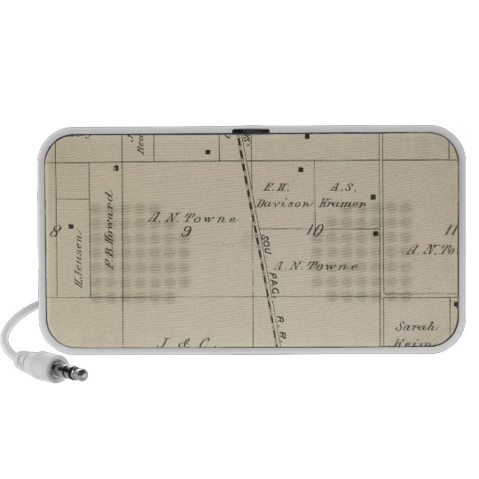 T24S R25E Tulare County Section Map Speaker