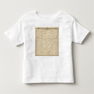 T24S R26E Tulare County Section Map Toddler T-shirt