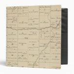 T24S R26E Tulare County Section Map Vinyl Binder